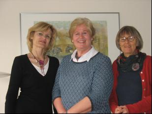 Sieglinde Glaesner, Bärbel Krüger, Erika Fichtner-Ehrlich